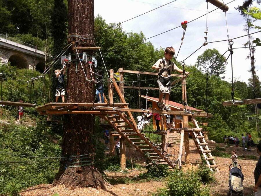 rope playground for children