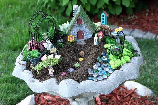 fairy garden decoration
