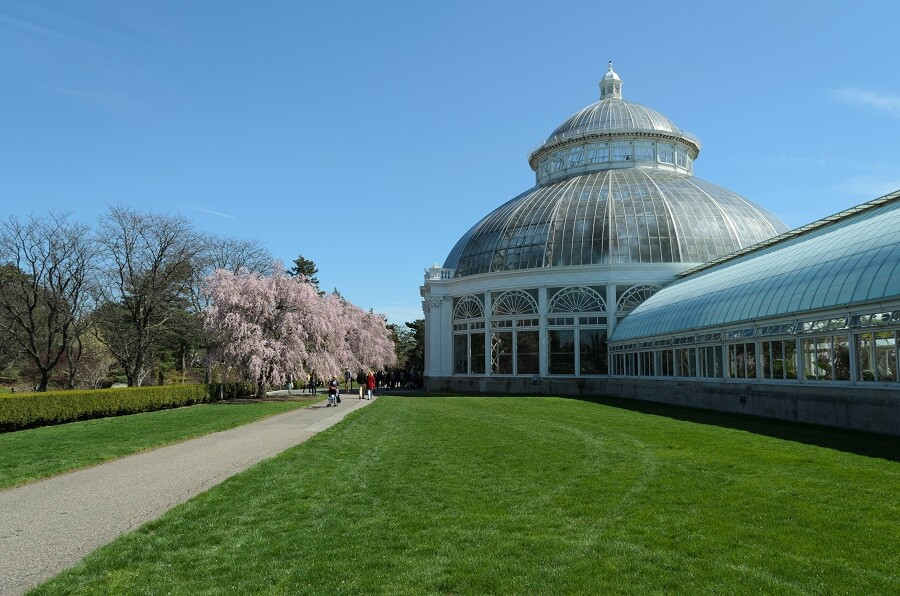 botanical garden in New York