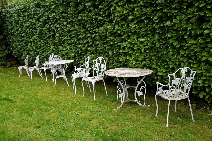 5 gorgeous french garden furniture metal items - Garden Furniture Metal