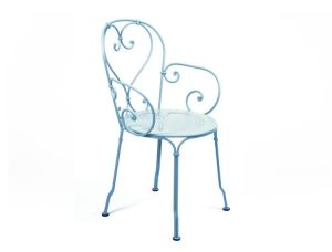French Garden Furniture Metal Chair