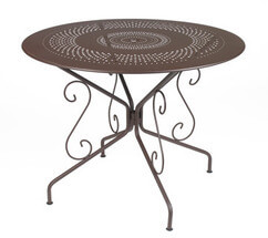 French Garden Furniture Metal Table