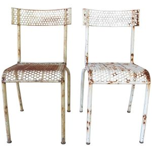 French Garden Furniture Metal Chairs
