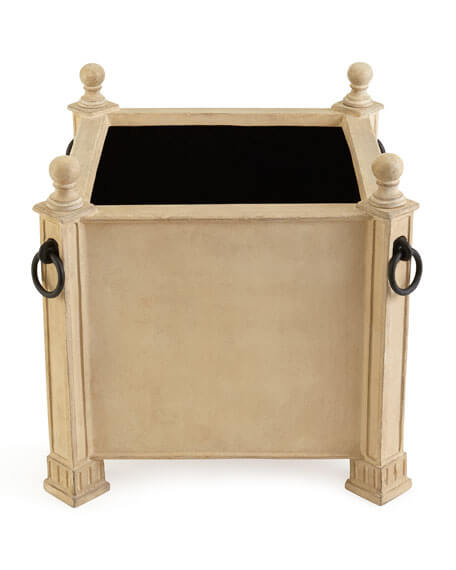 neoclassical looking planter