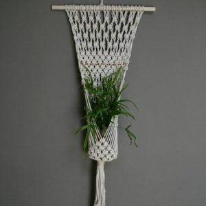 rope plant hanger macrame