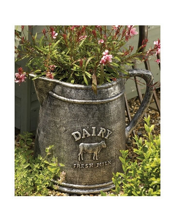 planter shaped like milk jug