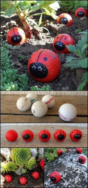 diy garden ideas for kids ladybugs