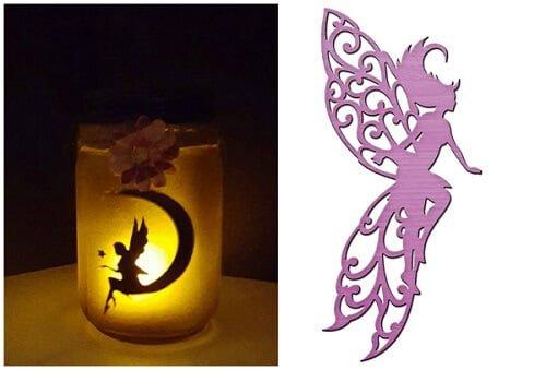 fairy lights in-jars
