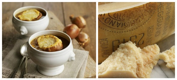 garden glut recipes onion-soup-with-parmesan-bread