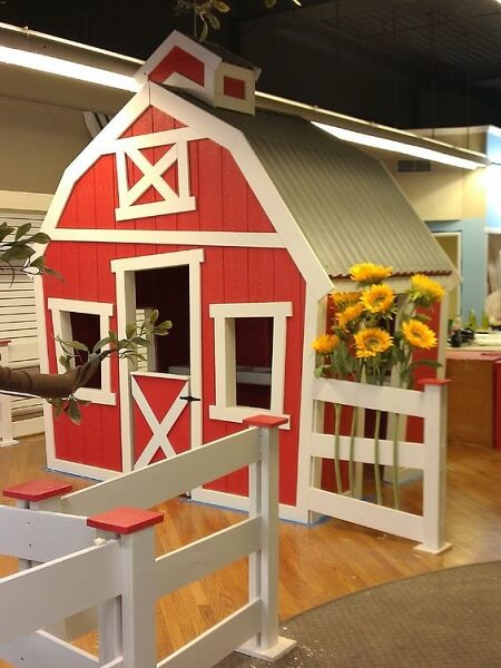 garden playhouse ideas barn playhouse