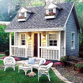 garden playhouse ideas grandmas playhouse