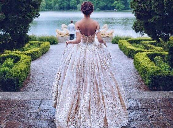 garden wedding ideas bride