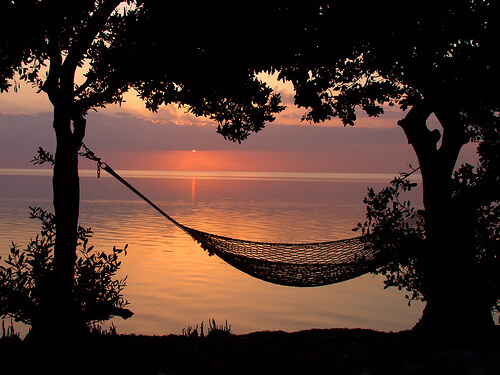 hammocks for sale at-sunset-near-water