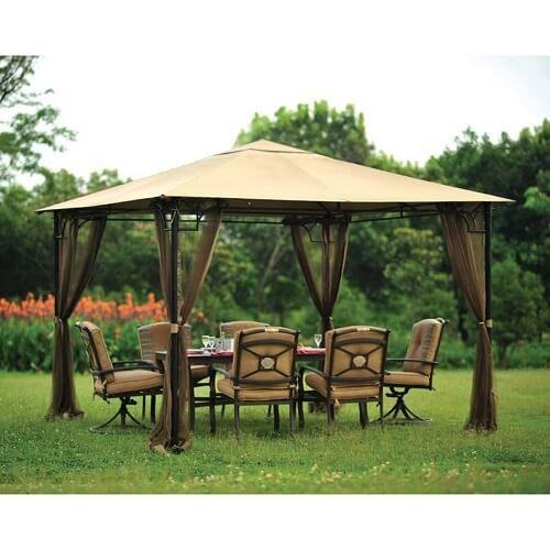 patio gazebo mosquito-net