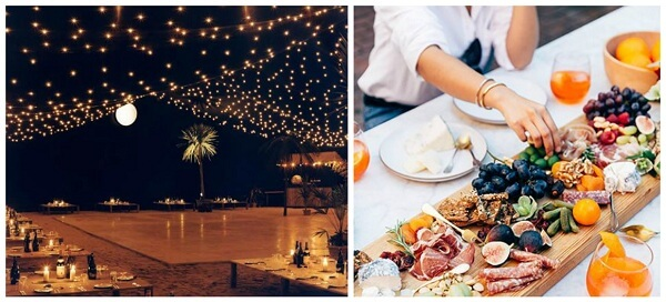 picnic wedding mood-board