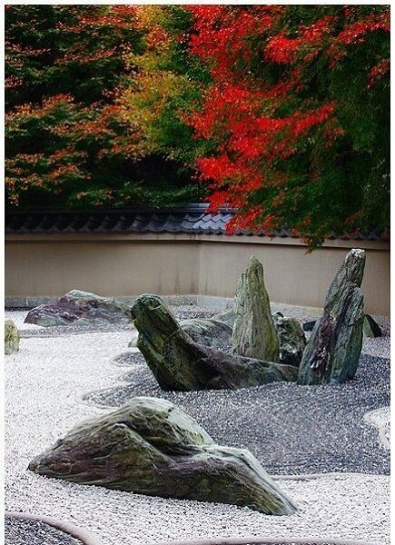 rock garden ideas primordial design