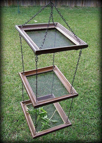 used picture frames ideas herb dryer