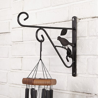 wrought-iron plant hooks
