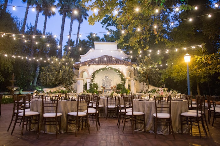5 magical outdoor lighting ideas for garden weddings for Outdoor wedding reception lighting