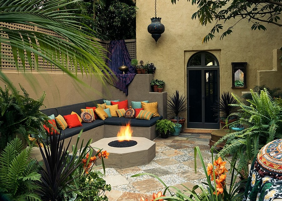 patio decorating ideas in a Moroccan style