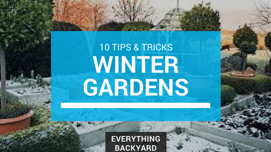 how to maintain winter gardens