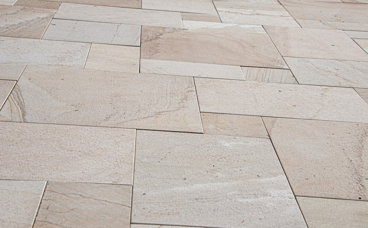 natural outdoor tile
