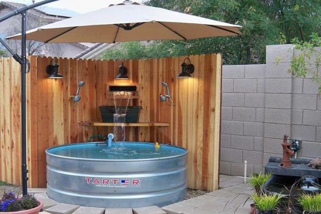 Installing a swimming pool in your backyard for Diy small pool