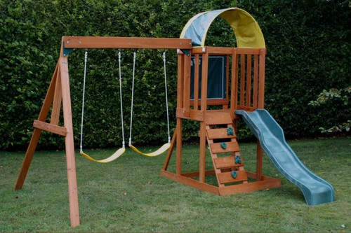 How to build a diy swing set perfect for your family for How to build a frame swing structure