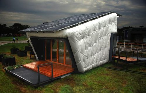 eco friendly solar house