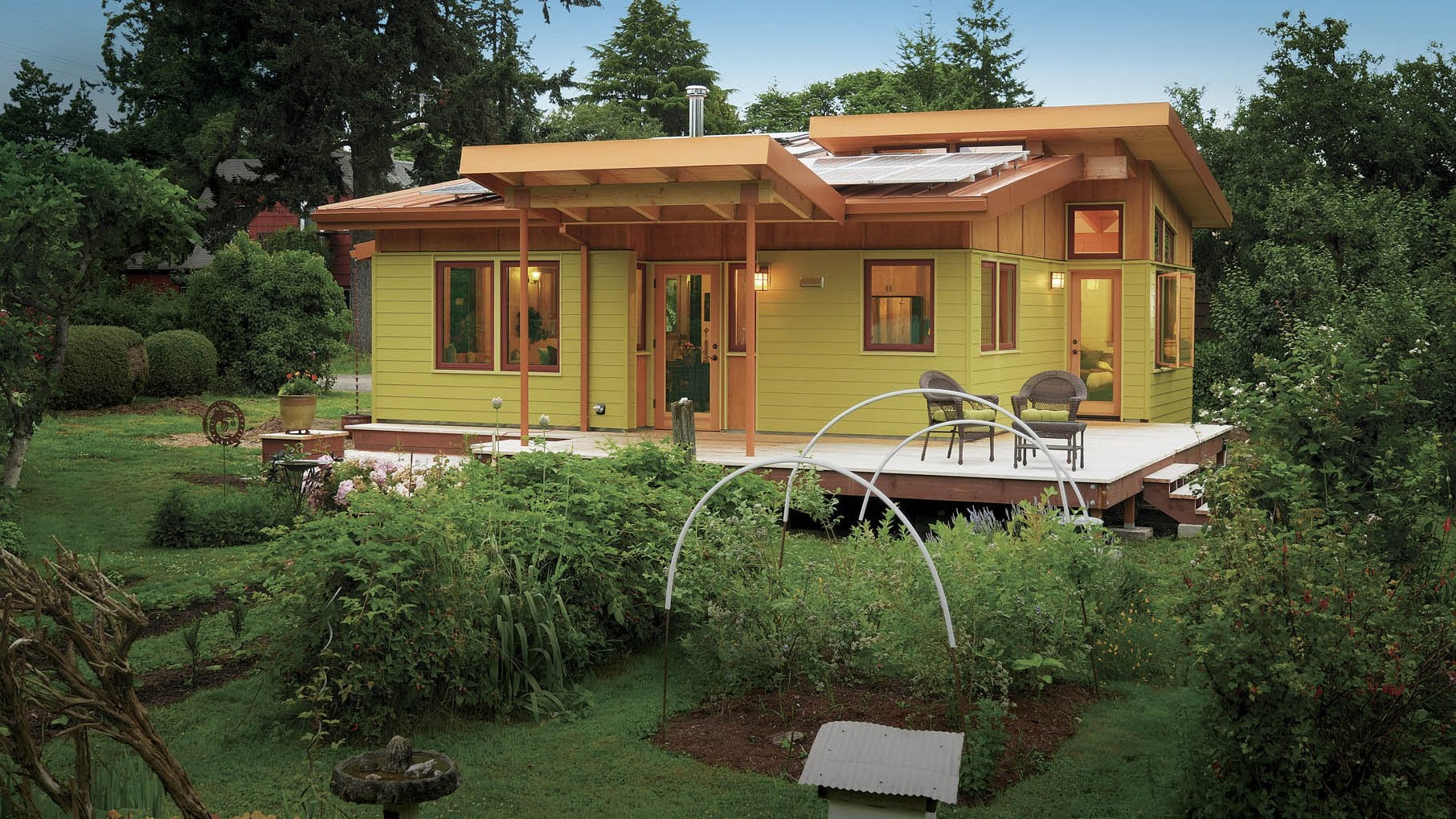 eco friendly tiny house