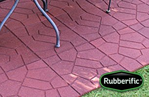 patio pavers made of rubber