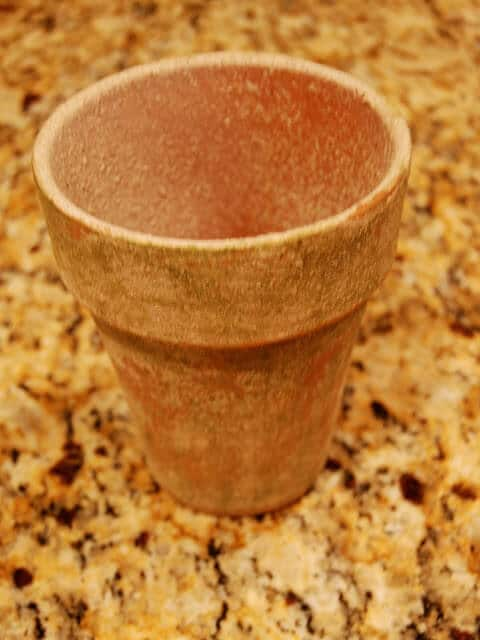 vintage flower pot, garden planters diy