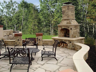Are you beginning to shop for outdoor fireplace kits? There