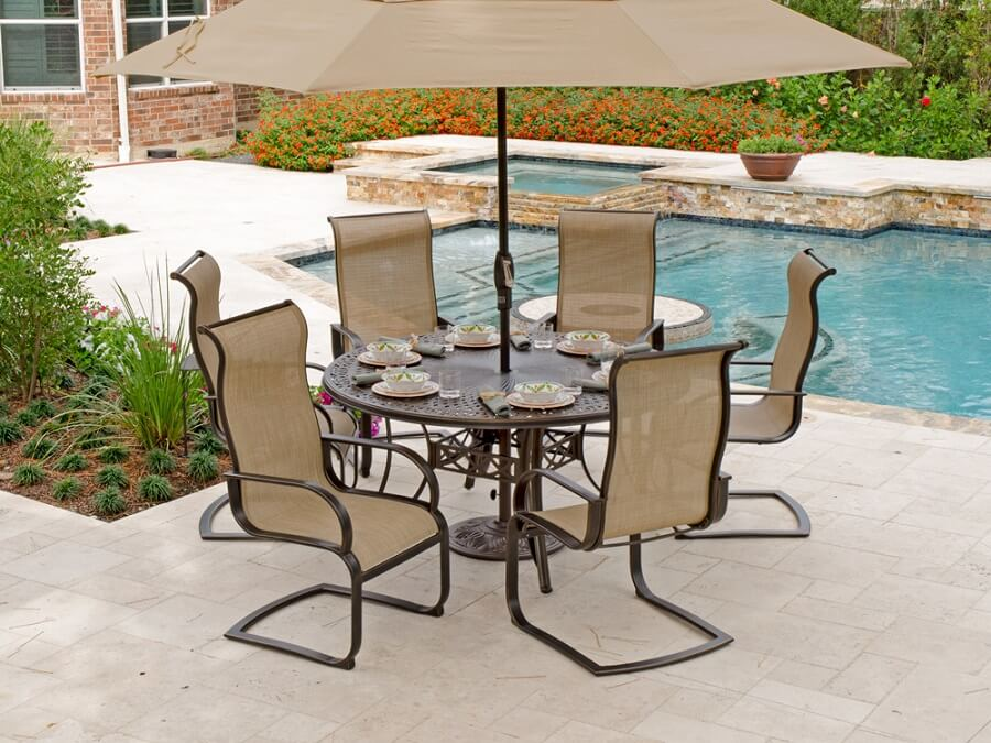 & 7 C-Spring Patio Chairs to Brighten Up Your Backyard
