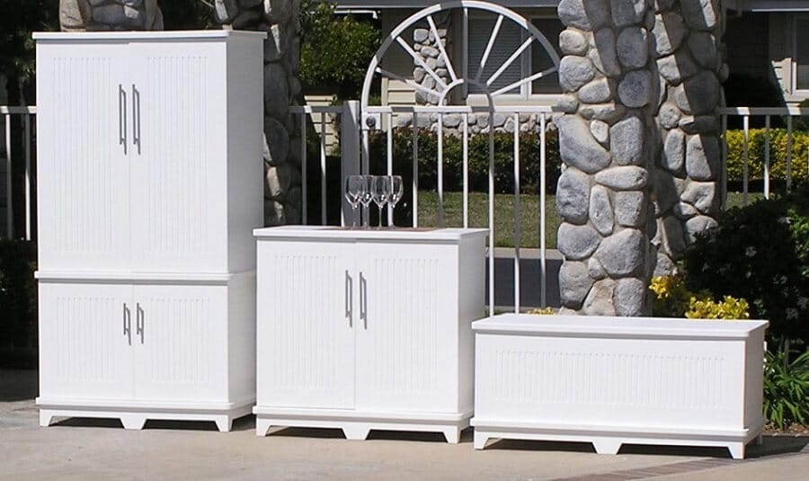 & 5 Easy Outdoor Storage Cabinet Ideas: How to Build Your Own