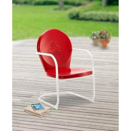 c-spring chair made of metal