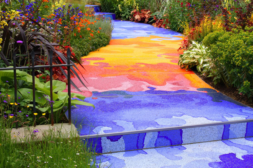 colorful pathway