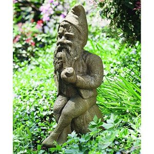 garden gnome made of stone