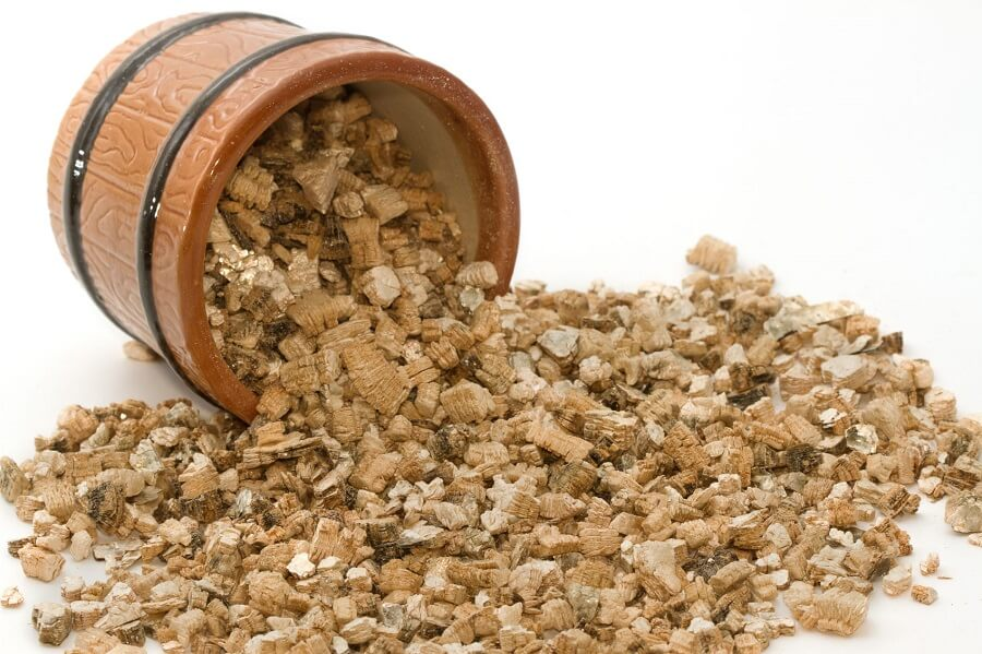 pieces of vermiculite