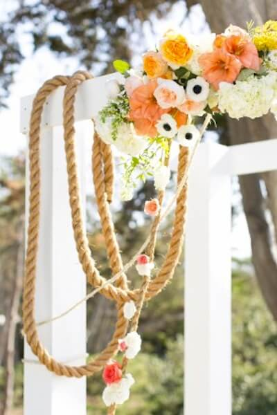 trellis with a nautical theme