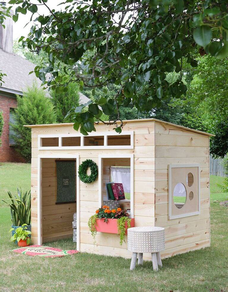 small and chic playhouse