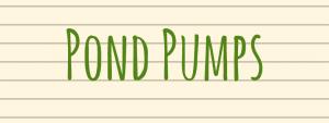pond pump diy pond