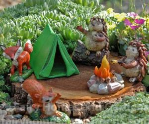 Happy Campers Miniature Gardening Set