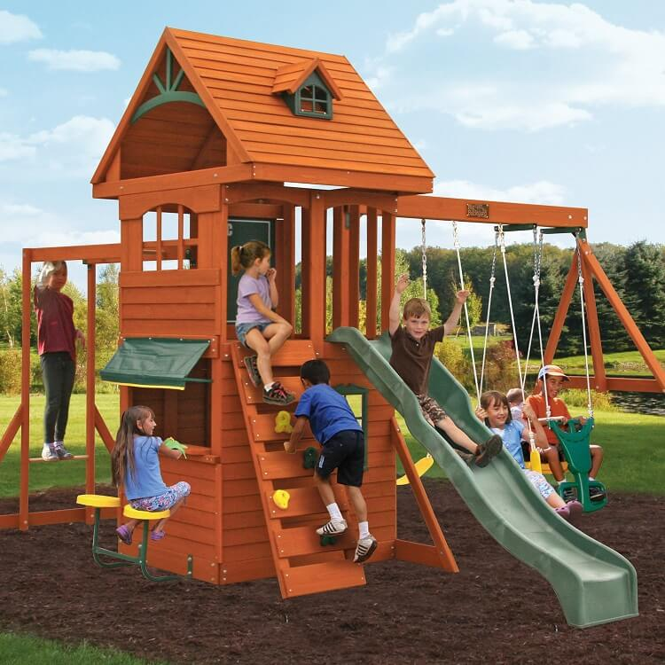 Ridgeview deluxe Clubhouse set