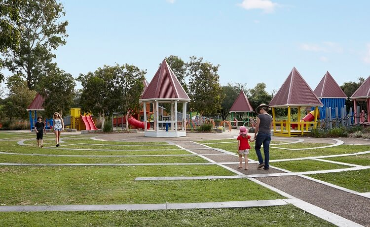 Huge children playground