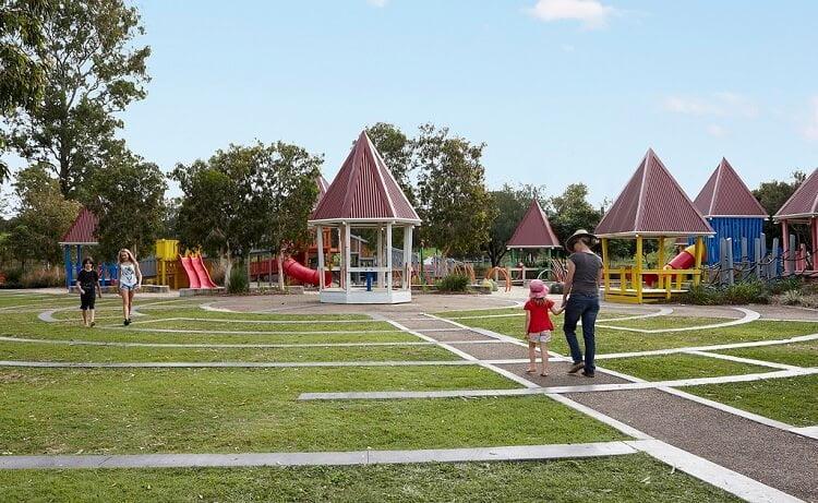 Huge children playground