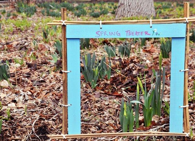 Spring Theater Garden Plant Frame