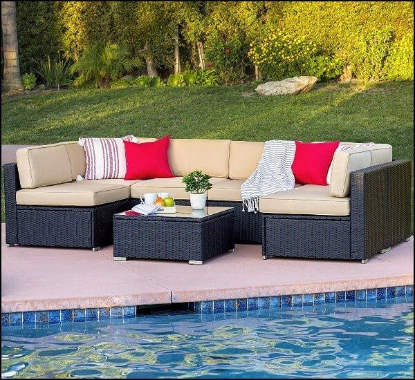 7 piece sofa set