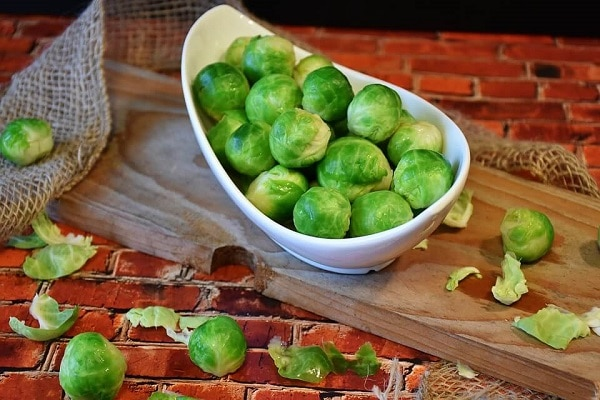 how to grow brussel sprouts storage