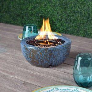 fire lava glass